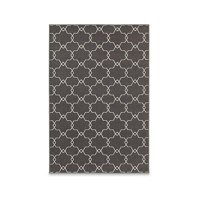 Alternate image 1 for Oriental Weavers Hampton Trellis 10-Foot x 10-Foot Area Rug in Grey/Ivory