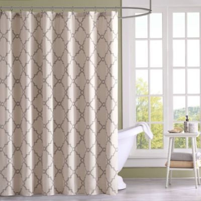 Madison Park Saratoga Printed Shower Curtain