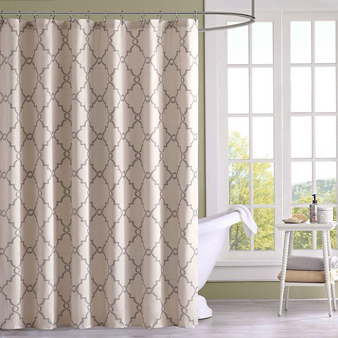 Alternate image 1 for Madison Park Saratoga Printed Shower Curtain