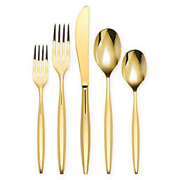 Olivia & Oliver™ Madison 5-Piece Flatware Place Setting in Gold