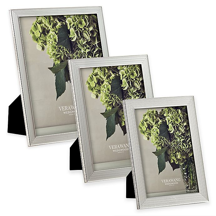 Alternate image 1 for Vera Wang Wedgwood® With Love Nouveau Picture Frame