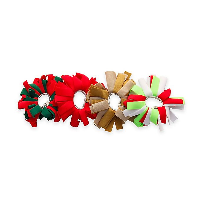 Alternate image 1 for Pomchies® Holiday Pom Charms (Set of 4)