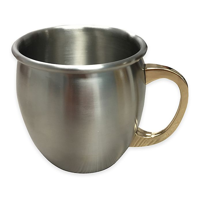 Alternate image 1 for Silver One Smooth Moscow Mule Mug