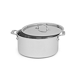All-Clad Stainless Steel 8 qt. Covered Stock Pot