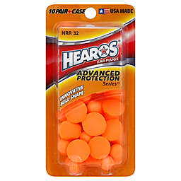 Hearos® 10-Count Advanced Protection Series NRR 32 Ear Plugs