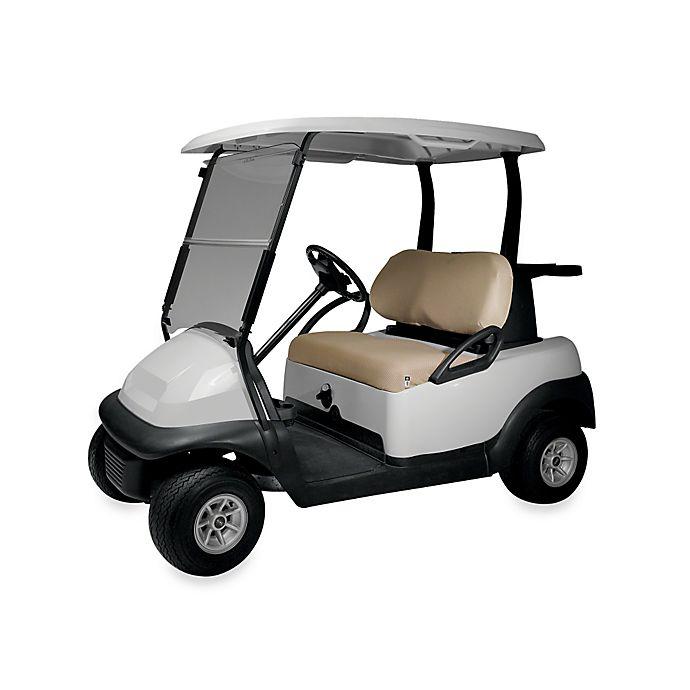 Alternate image 1 for Diamond Air Mesh Golf Cart Seat Cover in Khaki