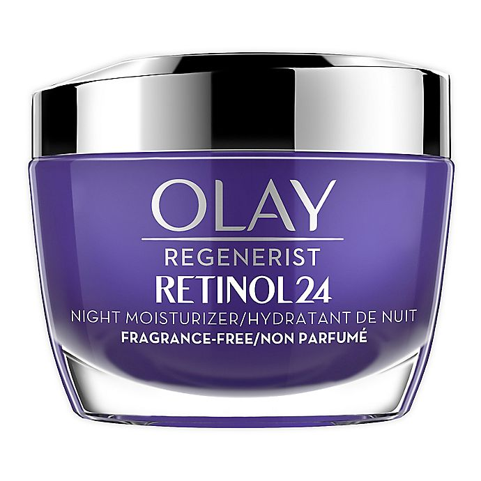 Alternate image 1 for Olay® Regenerist 1.7 oz. Retinol 24 Fragrance Free Night Face Moisturizer