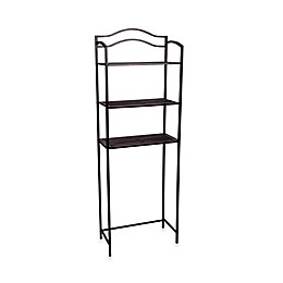 Household Essentials® Over the Toilet 3-Tier Spacesaver in Chocolate Brown