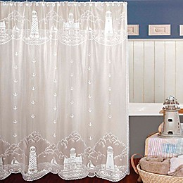 Heritage Lace® Lighthouse Shower Curtain