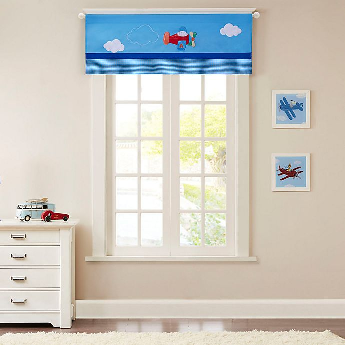 Alternate image 1 for Mi Zone Kids Totally Transit Window Valance in Blue