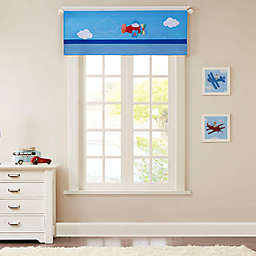 Mi Zone Kids Totally Transit Window Valance in Blue