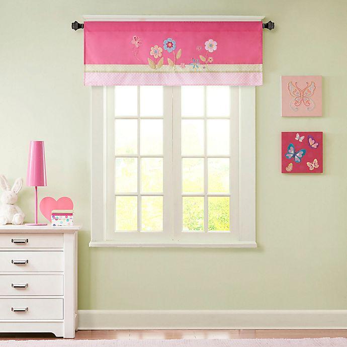 Alternate image 1 for Mi Zone Kids Spring Bloom Window Valance in Pink