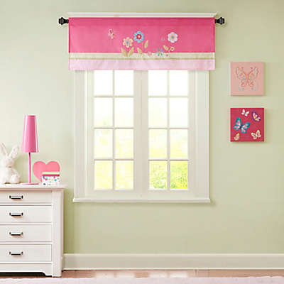 Mi Zone Kids Spring Bloom Window Valance in Pink