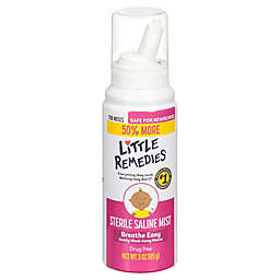 Little Remedies® 3 oz. Saline Nasal Mist for Babies Stuffy Noses