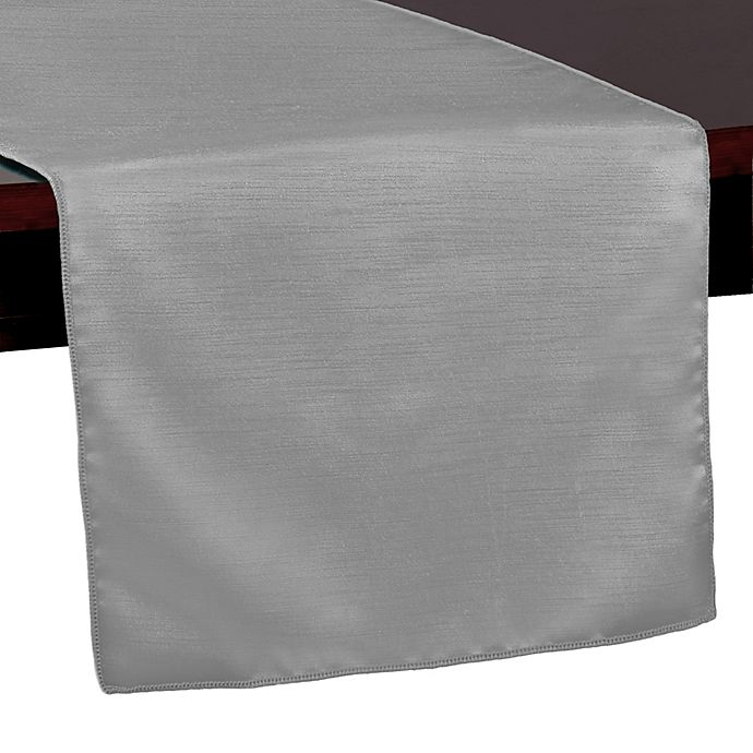 Alternate image 1 for Majestic 72-Inch Table Runner in Silver