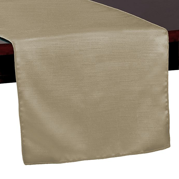 Alternate image 1 for Majestic 54-Inch Table Runner in Brown