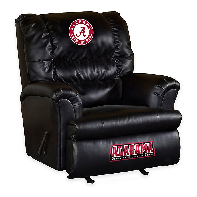 Alternate image 1 for University of Alabama Leather Big Daddy Recliner