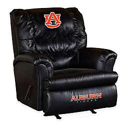 Auburn University Bonded Leather Big Daddy Recliner