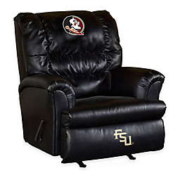 Florida State University Bonded Leather Big Daddy Recliner