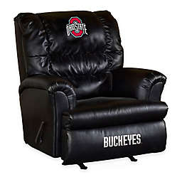 Ohio State University Bonded Leather Big Daddy Recliner