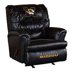 University of Missouri Bonded Leather Big Daddy Recliner