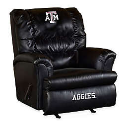Texas A&M University Bonded Leather Big Daddy Recliner