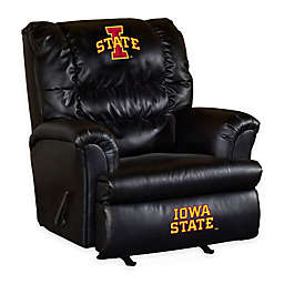 Iowa State University Bonded Leather Big Daddy Recliner