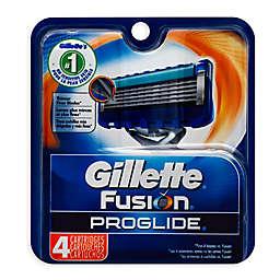 Gillette® Fusion® ProGlide® 4-Count Manual Razor Blades