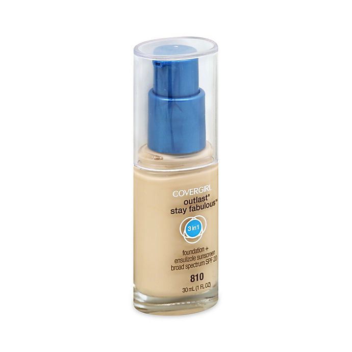 Alternate image 1 for CoverGirl® Outlast® Stay Fabulous™ 3-In-1 Foundation in Classic Ivory