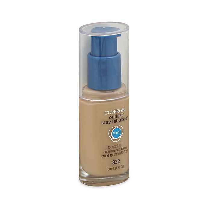 Alternate image 1 for CoverGirl® Outlast® Stay Fabulous™ 3-In-1 Foundation in Nude Beige