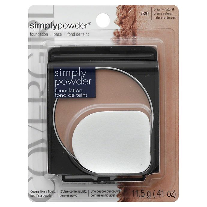 Alternate image 1 for CoverGirl® Simply Powder Foundation in Creamy Natural