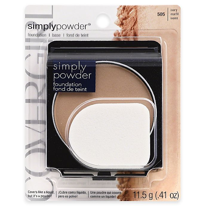 Alternate image 1 for CoverGirl® Simply Powder Foundation in Ivory