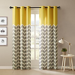 Intelligent Design Alex 2-Pack Grommet Top Window Curtain Panels