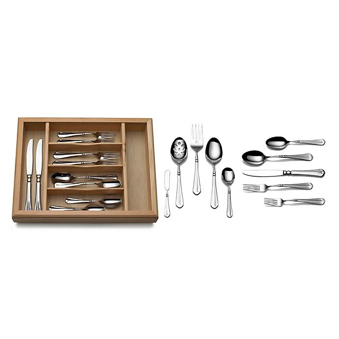 Alternate image 1 for Mikasa® French Countryside 65-Piece Flatware Set