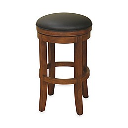 American Heritage Winston Swivel Stool in Amaretto