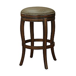 American Heritage Wilmington Swivel Stool in Navajo Brown