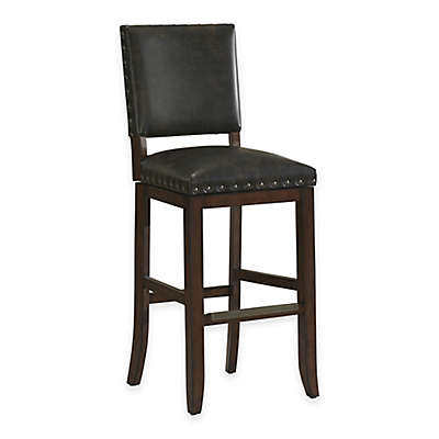 American Heritage Sutton Swivel Stool in Suede
