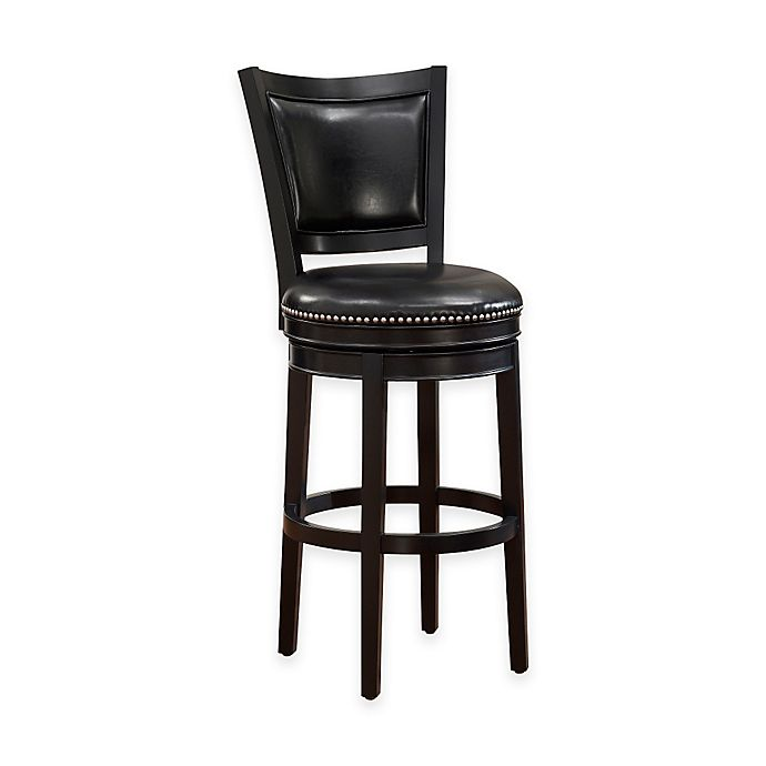 Alternate image 1 for American Heritage Shae Counter Stool in Black