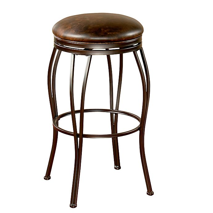Alternate image 1 for American Heritage Romano Counter Stool in Coco