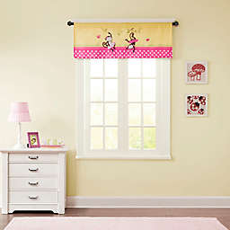 Mi Zone Kids Monkey Business Window Valance in Yellow