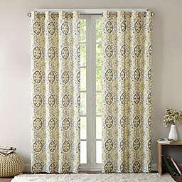Intelligent Design Seville Grommet Top Window Curtain Panel