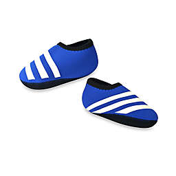 nufoot Everyday Striped Slipper in Blue/White