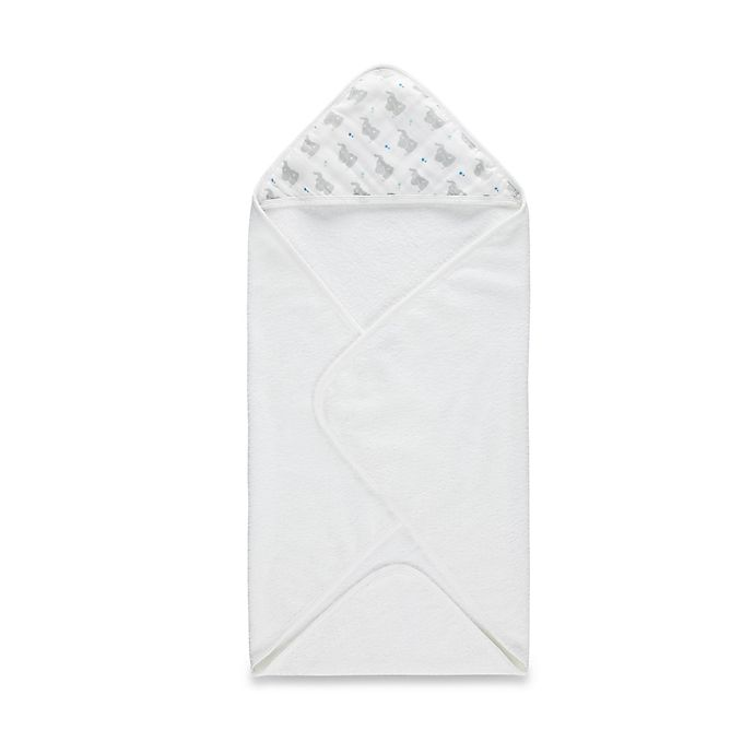 Alternate image 1 for aden® by aden + anais® Hooded Towel in Baby Star