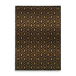 Oriental Weavers Parker Circles Rug in Black/Gold