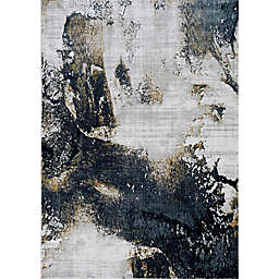 KAS Lara Expressions 6'7 x 9'6 Area Rug in Grey