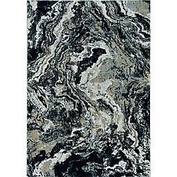 KAS Lara Artisan 6'7 x 9'6 Area Rug in Grey