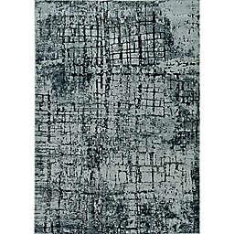 KAS Lara Highland 6'7 x 9'6 Area Rug in Ivory/Grey
