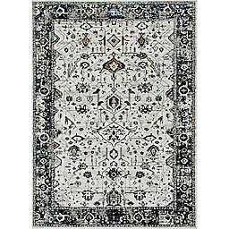 KAS Inspire Empera 6'7 x 9'6 Area Rug in Ivory/Grey