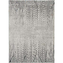 KAS Inspire Parker 3'3 x 4'7 Accent Rug in Ivory/Grey