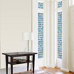 Peacock Premium Static Cling Sidelight Window Film